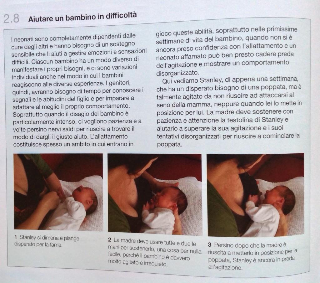 Aiutare un bambino ad attaccarsi al seno